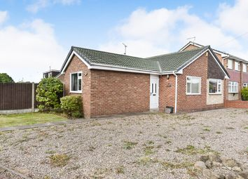 Thumbnail 3 bed detached bungalow for sale in Fairham Road, Stretton, Burton-On-Trent
