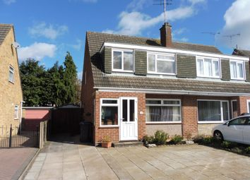 Thumbnail 3 bed semi-detached house for sale in Meadow Road, Wolston, Coventry
