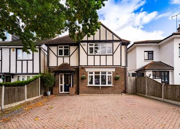 Thumbnail 4 bed detached house for sale in Hainault Road, Chigwell
