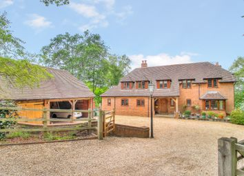 Thumbnail 5 bed detached house for sale in Slanting Hill, Hermitage, Thatcham