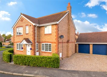 Thumbnail 4 bed detached house for sale in Barnes Close, Sleaford, Lincolnshire