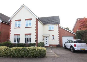 Thumbnail 4 bed detached house for sale in Century Way, Drayton, Norwich