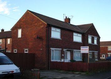 Thumbnail 3 bed semi-detached house to rent in Horden Road, Billingham