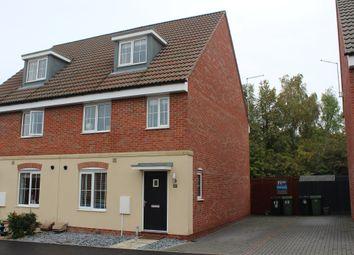 Thumbnail 4 bedroom semi-detached house for sale in Kelburn Road, Orton Northgate, Peterborough