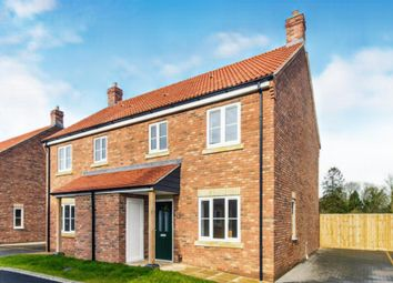 Thumbnail 3 bed semi-detached house for sale in Orchard Close, Tilney St. Lawrence, King's Lynn
