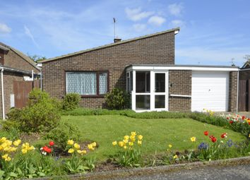 Thumbnail 3 bed detached bungalow for sale in Windermere Road, Old Felixstowe, Felixstowe