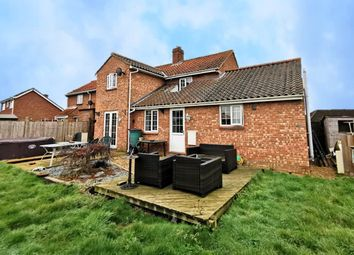 Thumbnail 4 bed semi-detached house for sale in Coronation Crescent, Hempnall, Norwich