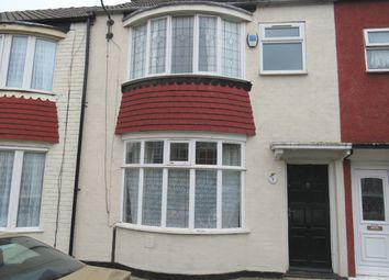 Thumbnail 3 bedroom terraced house for sale in Wake Street, Middlesbrough, North Yorkshire