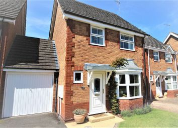 Thumbnail 3 bed detached house for sale in Newmarket Close, Stratford-Upon-Avon