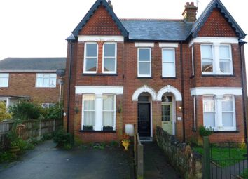 Thumbnail 3 bedroom flat to rent in Queens Road, Whitstable