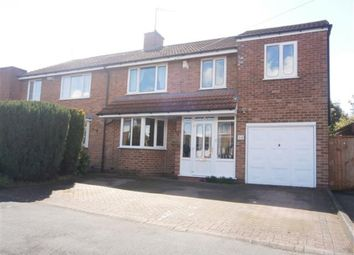 Thumbnail 4 bed semi-detached house for sale in Vesey Close, Water Orton, Birmingham