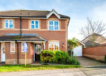 Thumbnail 3 bed semi-detached house for sale in Homefield Drive, Rainham, Kent