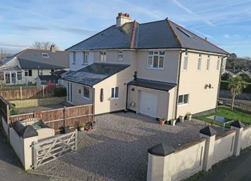Thumbnail 4 bed semi-detached house for sale in Goosewell Road, Goosewell, Plymouth