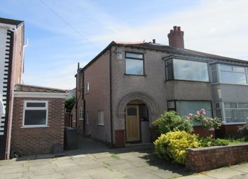 Thumbnail 3 bed semi-detached house to rent in Tithebarn Road, Crosby, Liverpool