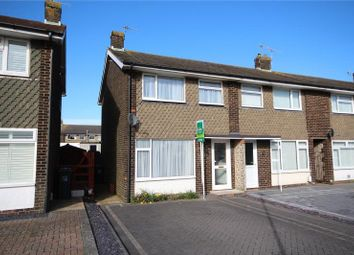 Thumbnail 2 bed end terrace house for sale in Garden Close, Lancing, West Sussex