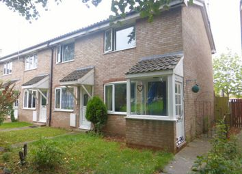 Thumbnail 2 bed end terrace house for sale in Warwick Walk, Hereford