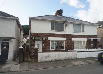 Thumbnail 2 bed semi-detached house for sale in Victoria Street, Briton Ferry