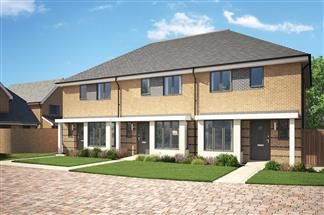 Thumbnail 3 bed terraced house for sale in Bellway At Qeii, Howlands, Welwyn Garden City