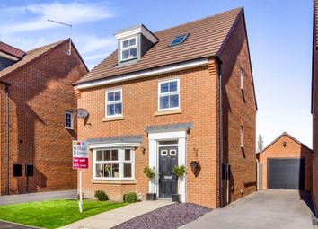 Thumbnail 4 bed detached house for sale in Ward Road, Castleford