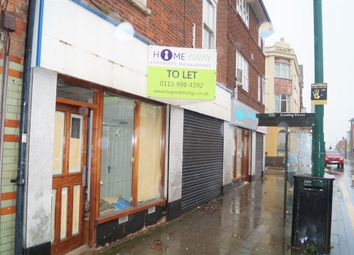 Thumbnail Retail premises to let in Alfreton Road, Nottingham