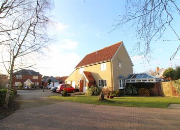 Thumbnail 4 bed detached house for sale in Sandling Crescent, Rushmere St. Andrew, Ipswich