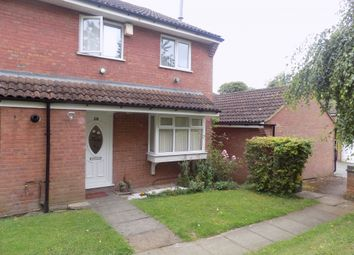 Thumbnail 2 bedroom semi-detached house to rent in Moorland Gardens, Luton, Bedfordshire