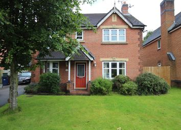 Thumbnail 4 bed detached house for sale in High Meadow, Walton-Le-Dale, Preston