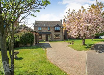 Thumbnail 5 bed detached house for sale in Brooks Meadow, Poringland, Norwich