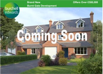 Thumbnail 4 bedroom detached house for sale in Hopley Road, Anslow, Burton-On-Trent