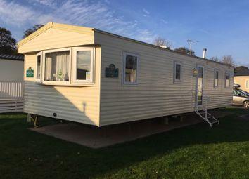 Thumbnail 3 bedroom mobile/park home for sale in Warren Road, Dawlish Warren, Dawlish