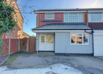 Thumbnail 3 bed semi-detached house for sale in Lynmouth Close, Aldridge, Walsall