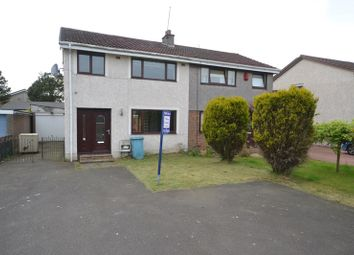 Thumbnail 3 bed semi-detached house for sale in Altnacreag Gardens, Moodiesburn