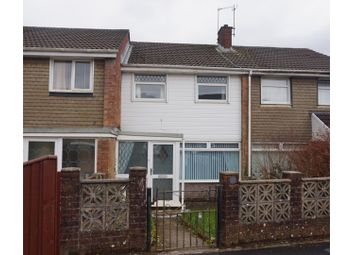 Thumbnail 3 bed terraced house for sale in Curry Close, Killay