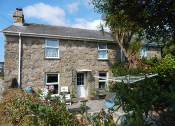 Thumbnail 4 bedroom cottage for sale in Botallack, St. Just, Penzance
