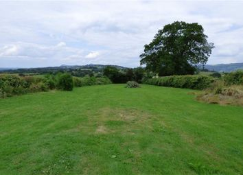 Thumbnail Land for sale in At 'europa Plain', Groespluen, Welshpool