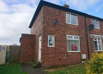 Thumbnail 2 bed semi-detached house to rent in Woodland Crescent, Kelloe