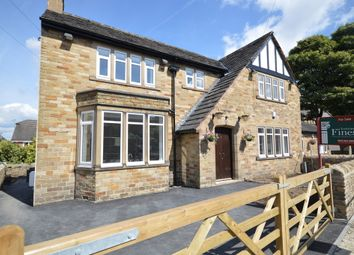 Thumbnail 3 bedroom detached house for sale in Church Lane, Clayton West, Huddersfield