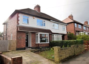 Thumbnail 3 bed semi-detached house for sale in Parkland Drive, Meanwood, Leeds