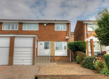 Thumbnail 3 bed semi-detached house for sale in Bridgewater Close, Newcastle Upon Tyne