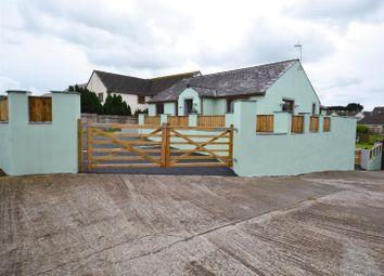 Thumbnail 4 bed detached bungalow for sale in West Grove Lane, Hundleton, Pembroke