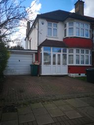 Thumbnail 3 bed semi-detached house to rent in Hale Grove Gardens, Mill Hill