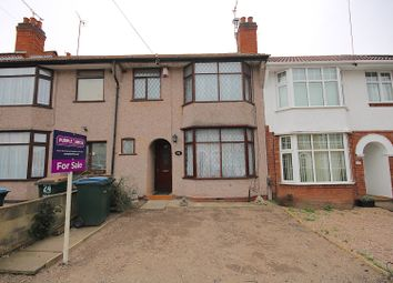 Thumbnail 3 bedroom terraced house for sale in Paxton Road, Coventry