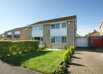 Thumbnail 3 bedroom semi-detached house for sale in Deepdale, York