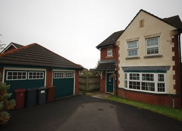 Thumbnail 3 bed detached house for sale in Pankhurst Close, Guide, Blackburn