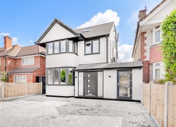 Thumbnail 5 bed detached house for sale in Manor Drive North, New Malden