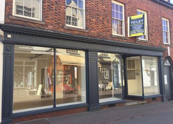 Thumbnail Retail premises to let in 5 - 7 Sheep Market, Leek, Staffordshire