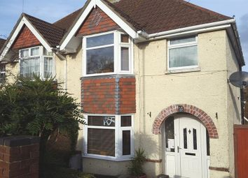 Thumbnail 4 bed semi-detached house for sale in Cornwall Road, Southampton
