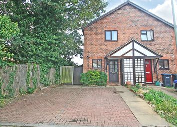 Thumbnail 2 bedroom end terrace house for sale in Herndon Close, Egham, Surrey