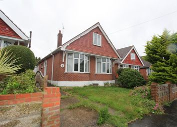 Thumbnail 3 bed detached bungalow for sale in Hillside Crescent, Cosham, Portsmouth