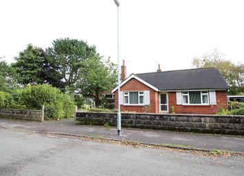 Thumbnail 3 bed detached bungalow to rent in Orme Road, Knypersley, Staffordshire